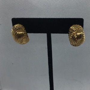 4 for $12: Napier Gold Tone Earrings